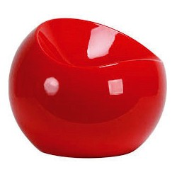 Location ball chair rouge