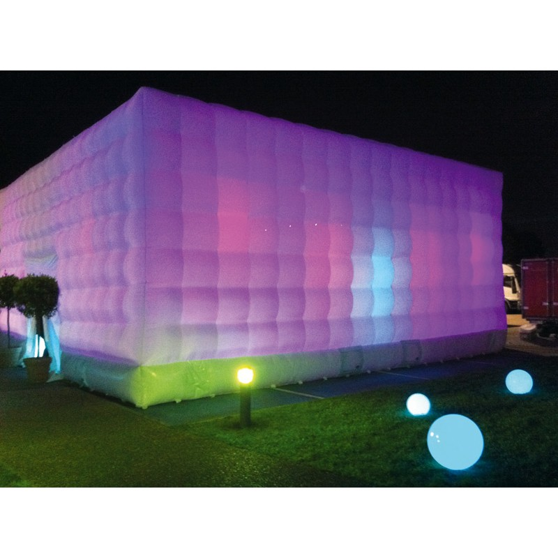 Location cube danse gonflable
