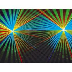 Organisation show laser