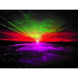 Location laser rvb 1 watt