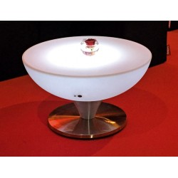 Location table basse lumineuse lounge 105