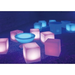 Location cube lumineux Kubo