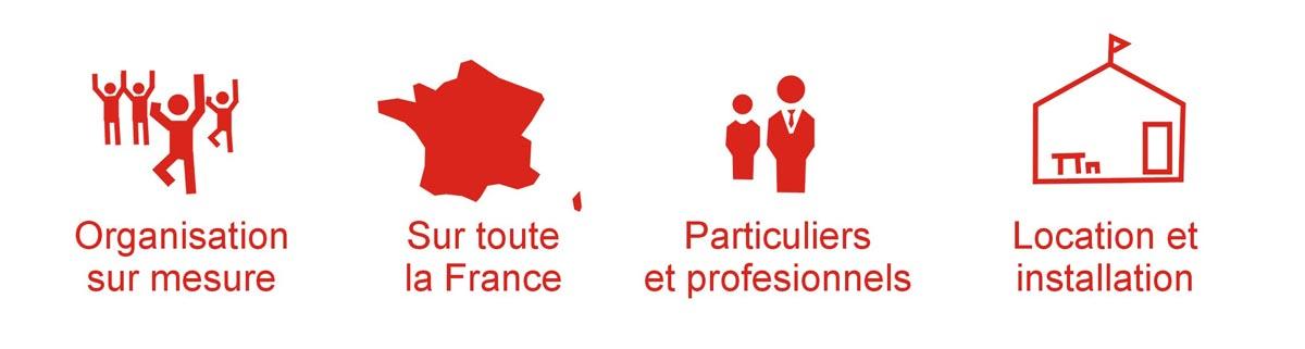 Location de matériel de réception en Bourgogne